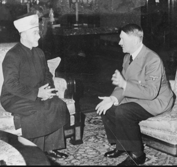 Grand Mufti with Hitler