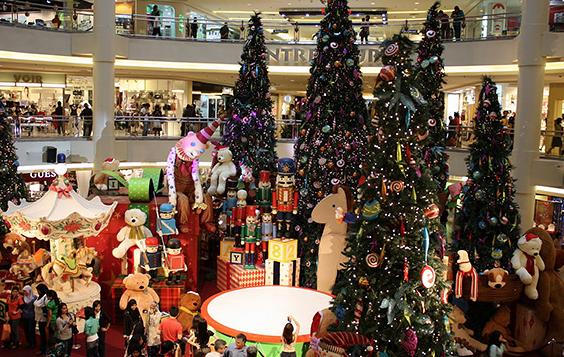 Mall in Shanghai
