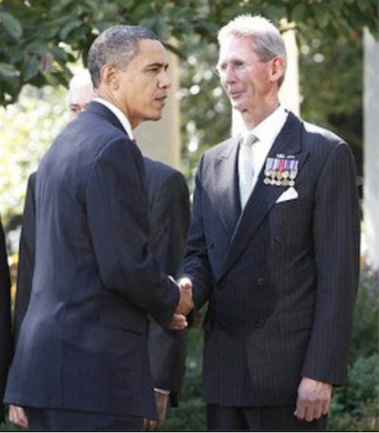 Poindexter With Obama